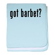 GOT BARBET baby blanket