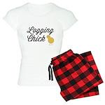 Logging Chick Women's Light Pajamas