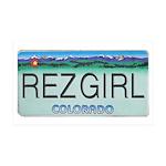 Colorado Rez Girl 38.5 x 24.5 Wall Peel