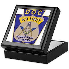 D. O. C. K9 Corps Keepsake Box