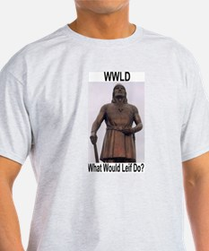 WWLD with Statue T-Shirt