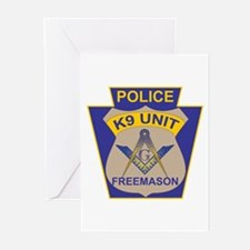 K9 Corps Masons Greeting Cards (Pk of 10)