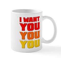 I WANT YOU Mug