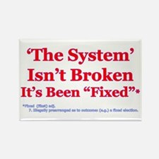 The System is Fixed Rectangle Magnet