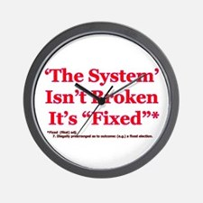 The System is Fixed Wall Clock