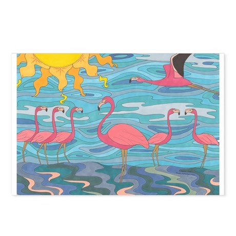 Seeing Pink Postcards (Package of 8)