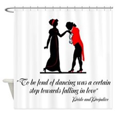 Fond of Dancing Shower Curtain