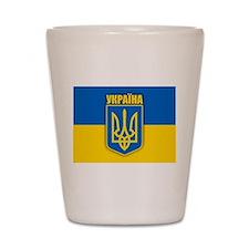 """""""Ukraine Pride"""" Shot Glass"""
