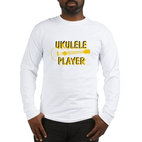 Ukuele Player Long Sleeve T-Shirt