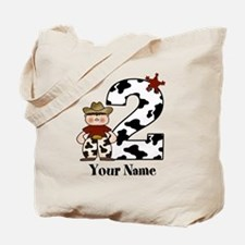 2nd Birthday Cowboy Tote Bag
