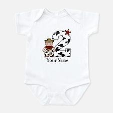 2nd Birthday Cowboy Infant Bodysuit