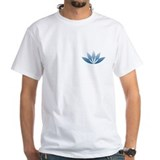 Buddha Mens White T-shirts