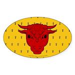 Populace Badge Sticker (Oval 10 pk)