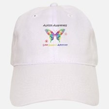 Autism Awareness Butterfly Baseball Baseball Cap