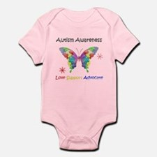 Autism Awareness Butterfly Infant Bodysuit