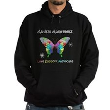 Autism Awareness Butterfly Hoody