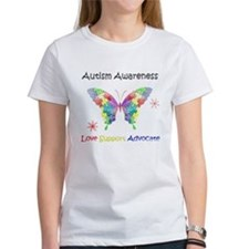 Autism Awareness Butterfly Tee