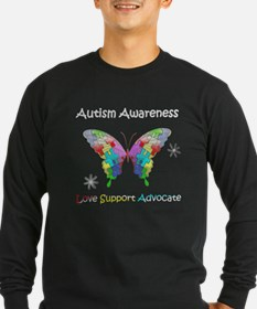 Autism Awareness Butterfl T