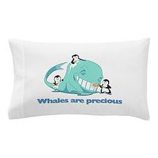 Whale Pillow Case