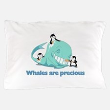 Whale Pillow Case