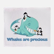 Whale Throw Blanket