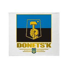"""""""Donetsk"""" Throw Blanket"""