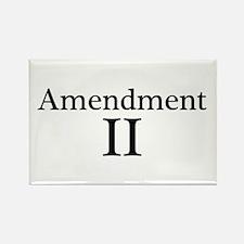 Second Amendment II Rectangle Magnet