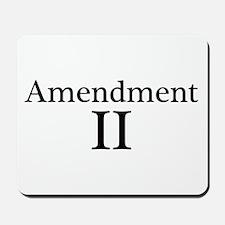Second Amendment II Mousepad