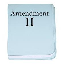 Second Amendment II baby blanket