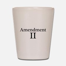 Second Amendment II Shot Glass