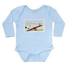 See-Saw Long Sleeve Infant Bodysuit