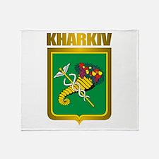 """""""Kharkiv"""" Throw Blanket"""