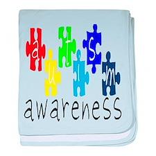 Kids Autism Awareness baby blanket