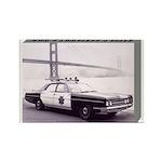 San Francisco Police Car Rectangle Magnet (10 pack