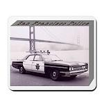 San Francisco Police Car Mousepad