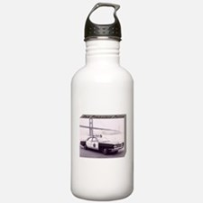 San Francisco Police Car Sports Water Bottle