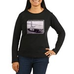 San Francisco Police Car Women's Long Sleeve Dark