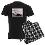 San Francisco Police Car Men's Dark Pajamas