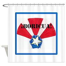 ¡Boricua! Shower Curtain