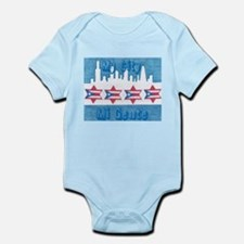 Chicago Flag Infant Bodysuit