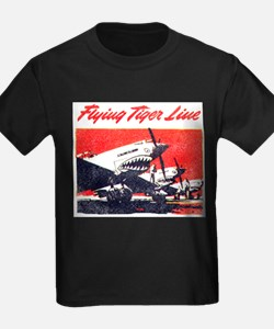 Cute Flying tigers T