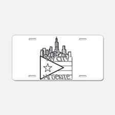 McMg Logo grey Aluminum License Plate