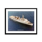 USS ALAMO Framed Panel Print