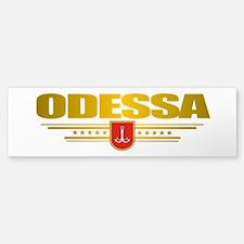 """""""Odessa"""" Bumper Bumper Sticker"""
