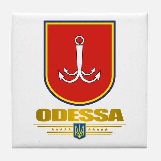 """Odessa"" Tile Coaster"