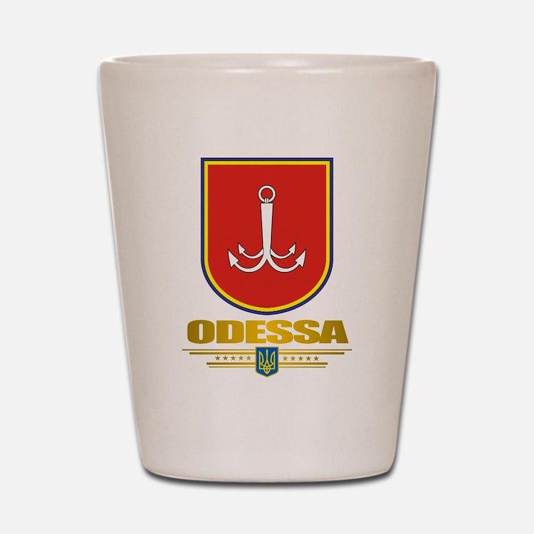 """Odessa"" Shot Glass"