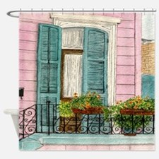 New Orleans Door Shower Curtain