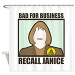 Shower Curtain: Recall Janice