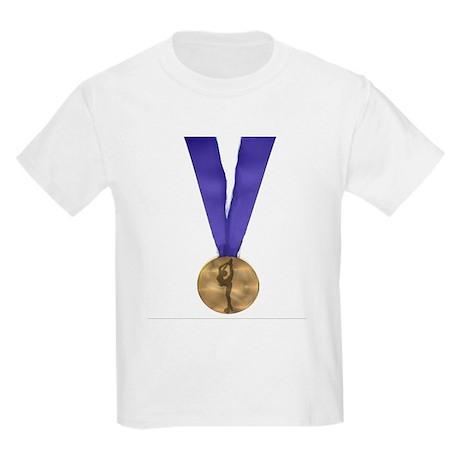 Skater Gold Medal Kids Light T-Shirt