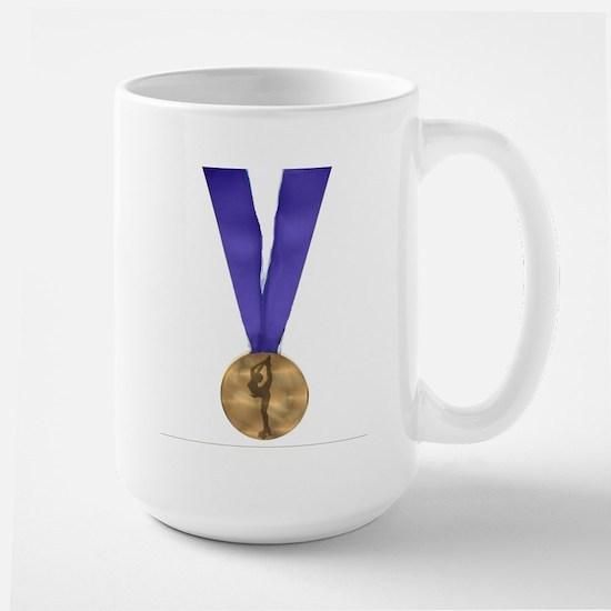 Skater Gold Medal Large Mug